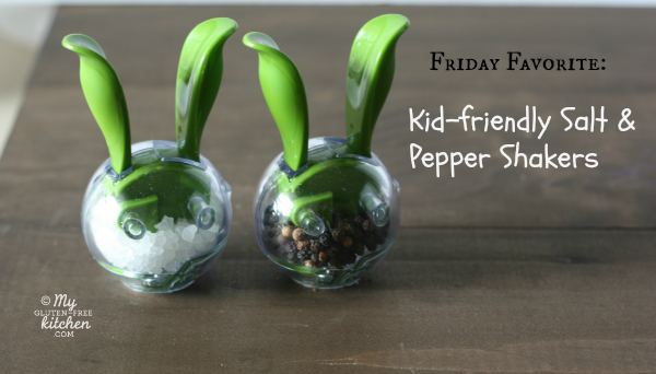 Kid-friendly Salt and Pepper Shakers