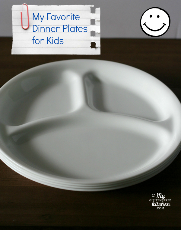 Favorite Divided Plates for kids / My Gluten-free Kitchen