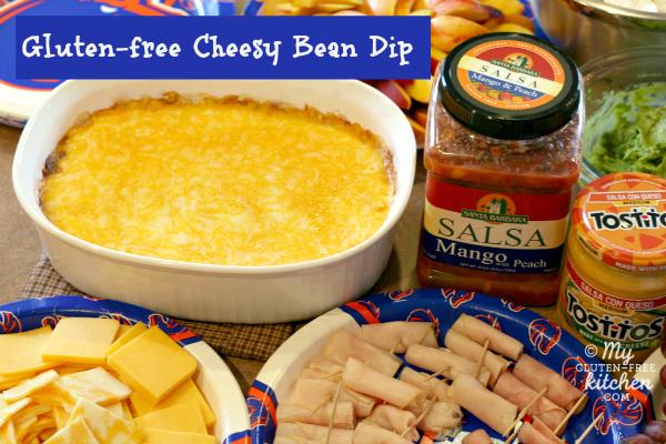 Gluten-free Cheesy Bean Dip