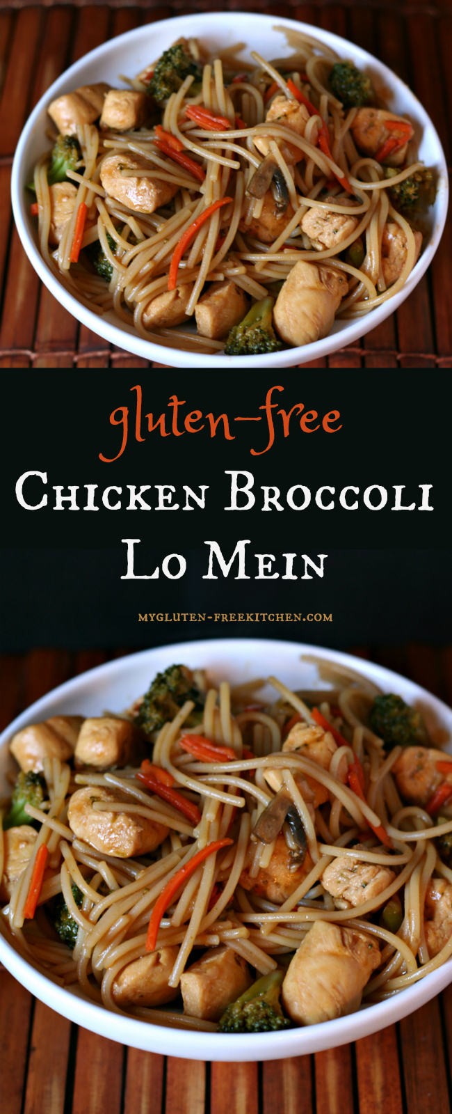 Gluten-free Chicken Broccoli Lo Mein Recipe