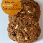 Gluten-free Pumpkin Oatmeal Cookies