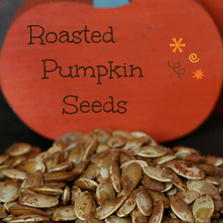 Roasted Pumpkin Seeds {Gluten-free}