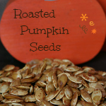 Roasted Pumpkin Seeds {Gluten-free}