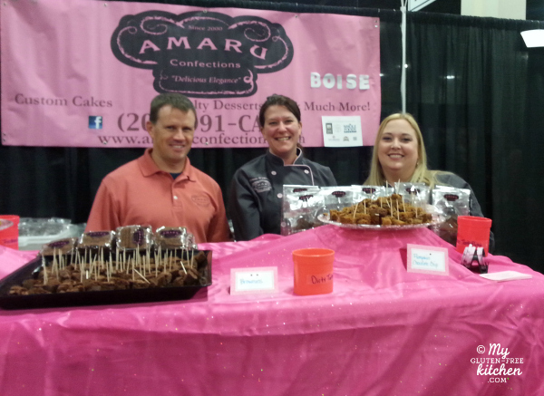 SLC Gluten-free Expo Amaru Confections booth