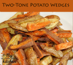 Two-Tone Potato Wedges {Gluten-free}