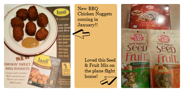 New Products from Ian's and Enjoy Life Foods at the Food Allergy Bloggers Conference