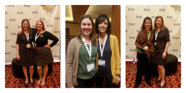 Gluten-free blogger friends from the Food Allergy Bloggers Conference