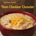 Ham Cheddar Chowder {Gluten-free}