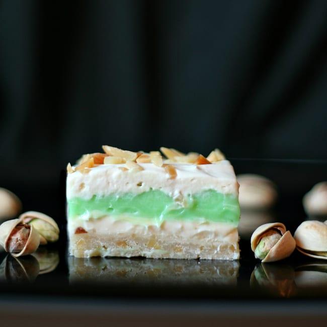 Pistachio Pudding Dessert gluten-free