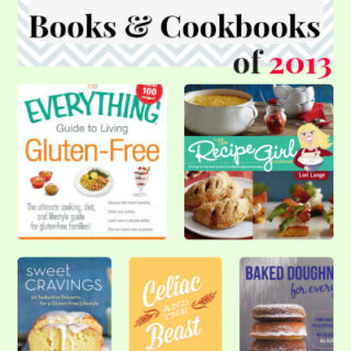 Favorite Gluten-free Books and Cookbooks of 2013
