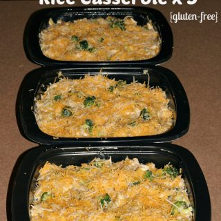 Freezer Meal: Chicken Broccoli Casserole (gluten-free)