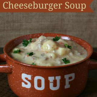 Gluten-free Cheeseburger Soup