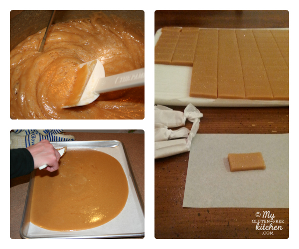 Making Sea Salt Caramels