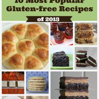 My Gluten-free Kitchen's 10 Most Popular Gluten-free Recipes from 2013