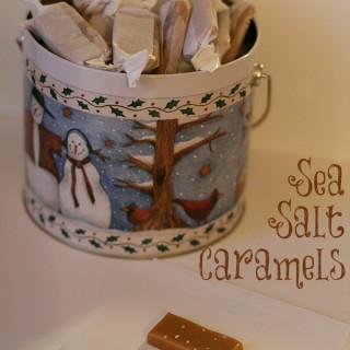Sea Salt Caramels {naturally gluten-free}