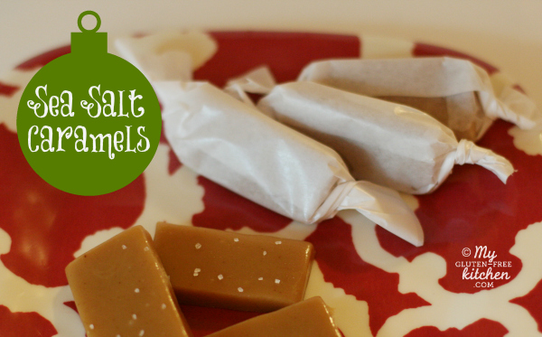 Sea Salt Caramels (naturally gluten-free)