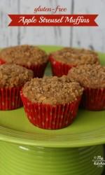 Gluten-free Apple Streusel Muffins