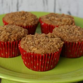Apple Streusel Muffins {Gluten-free}