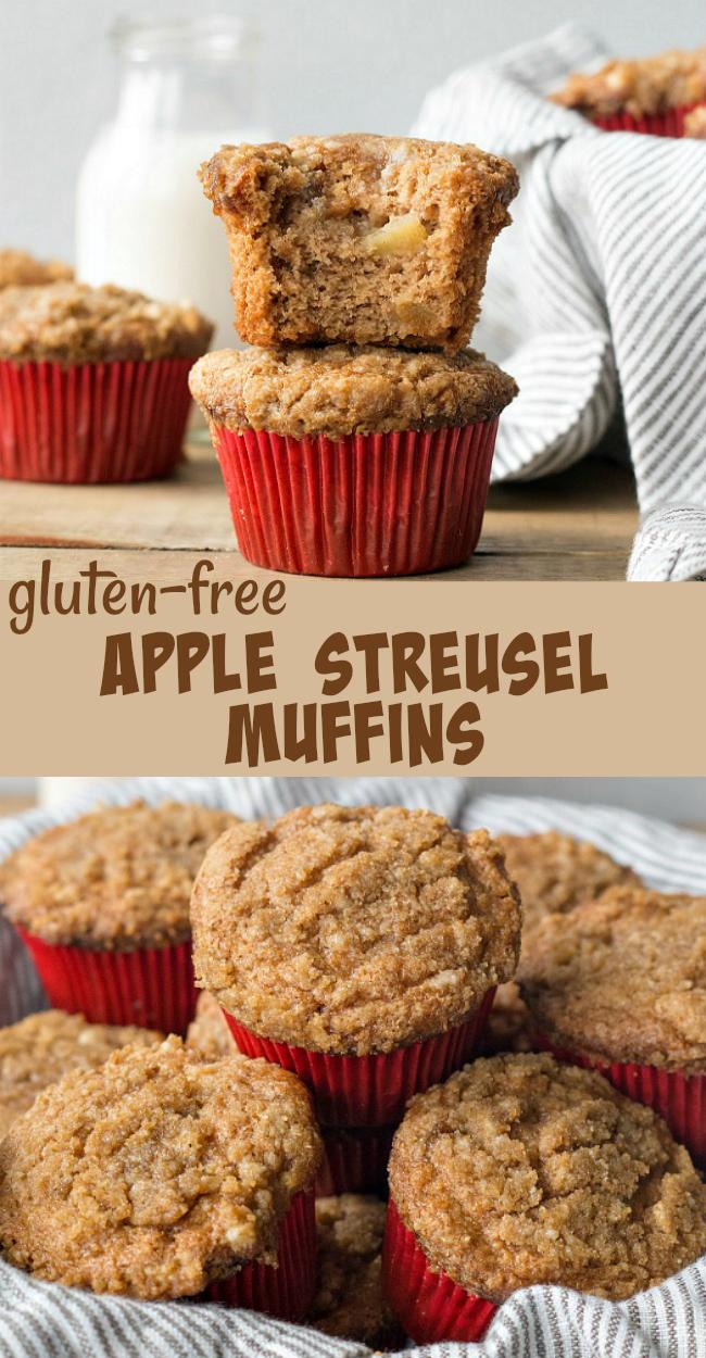 Gluten-free Apple Streusel Muffins Recipe