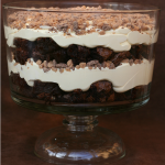Brownie Pudding Heath Trifle {Gluten-free}