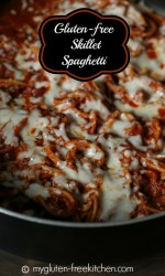 Gluten-free Skillet Spaghetti - An easy one-dish meal