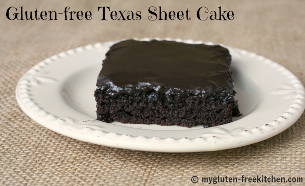 Texas Sheet Cake Glutenfree