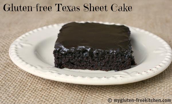 Gluten-free Texas Sheet Cake