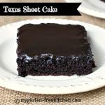 Texas Sheet Cake {Gluten-free}