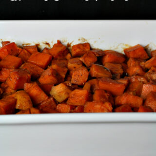 Gluten-free Glazed Sweet Potatoes