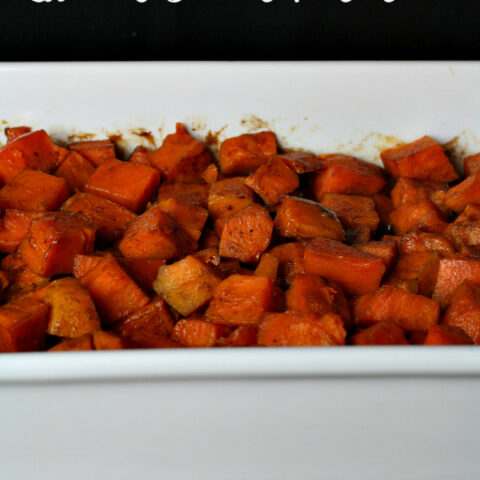 Glazed Sweet Potatoes {Naturally Gluten-free}