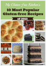 Most Popular Gluten-free Recipes of 2013