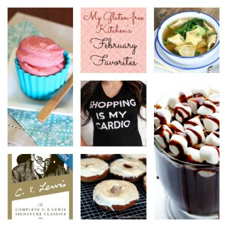 My Gluten-free Kitchen's February 2014 Favorites