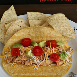Slow Cooker Chicken for Tacos {Gluten-free}