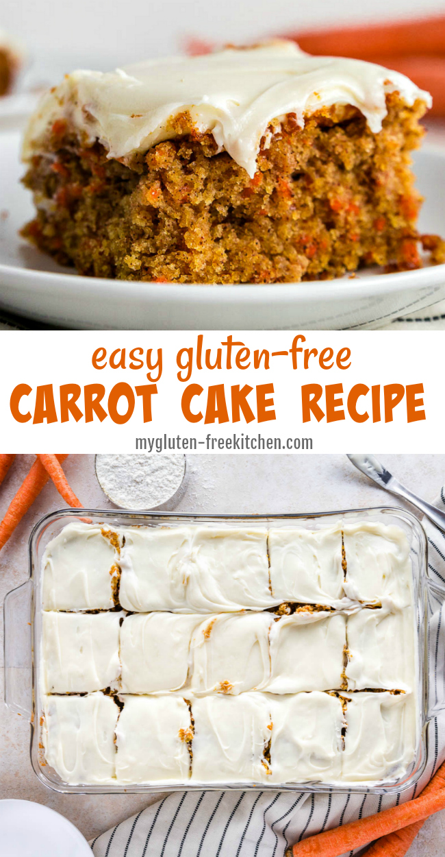 Easy Gluten-free Carrot Cake Recipe