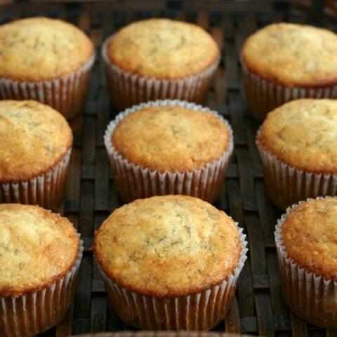 Gluten-free Banana Muffins Recipe