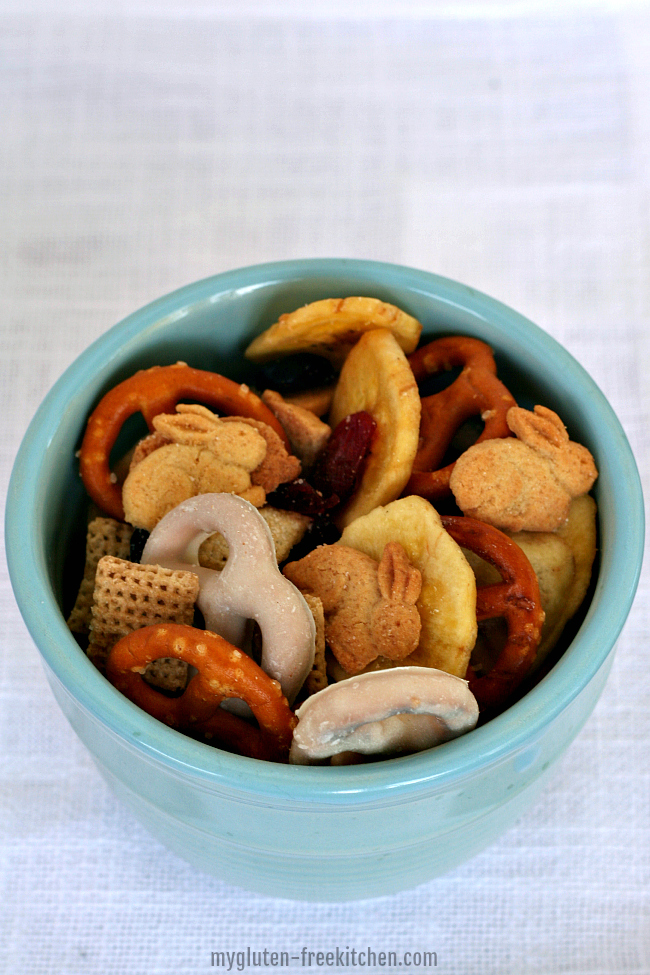 Gluten-free Bunny Snack Mix