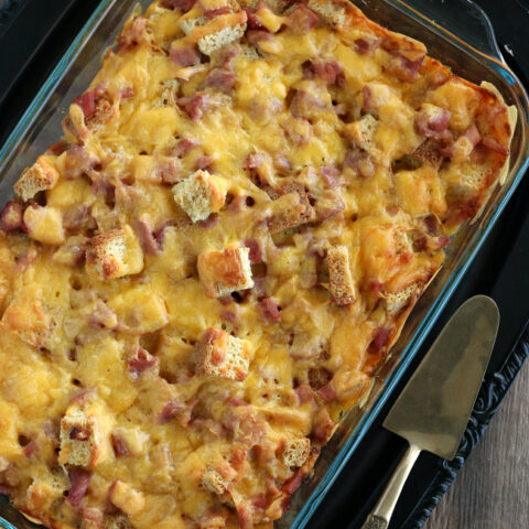 Gluten-free Overnight Holiday Breakfast Casserole