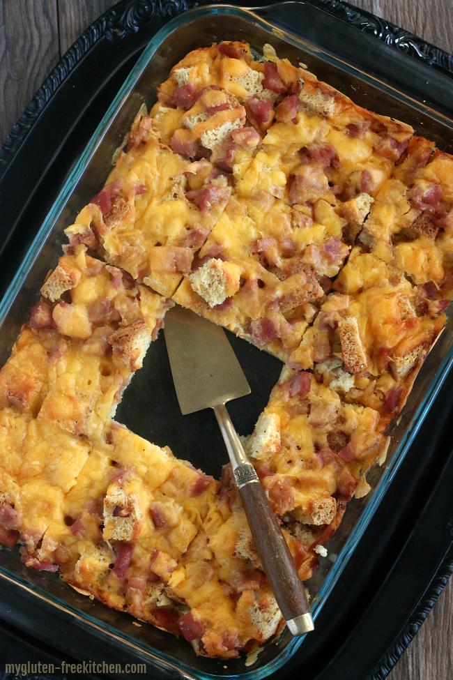 Gluten-free Overnight Breakfast Casserole