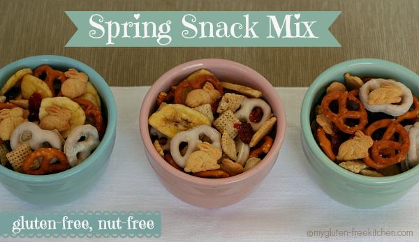Gluten-free, Nut-free Spring Snack Mix