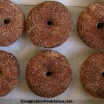 Cinnamon Sugar Baked Doughnuts {Gluten-free}