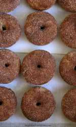 Gluten-free Cinnamon Sugar Doughnuts Recipe. These donuts are so good! No one can tell they're #glutenfree