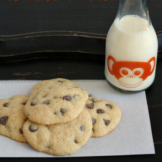 Gluten-free Monkey Cookies (aka Banana Chocolate Chip Cookies)