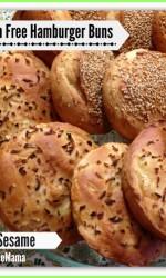 Gluten-free Onion Hamburger Buns from Gluten Free Mama