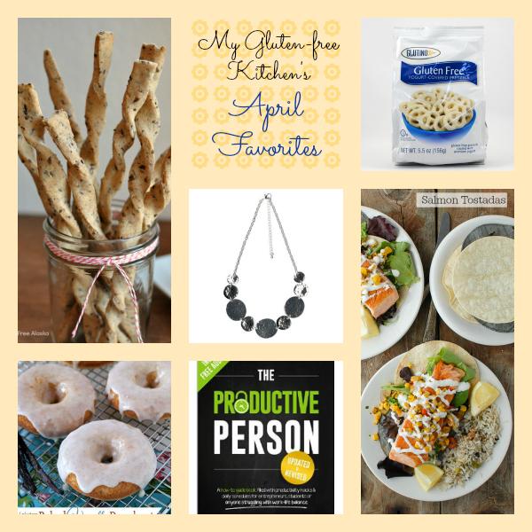 My Gluten-free Kitchen's April 2014 Favorites