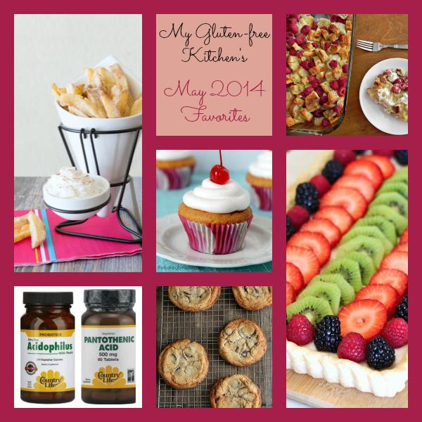 My Gluten-free Kitchen's May 2014 Favorites