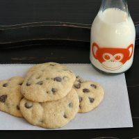 Gluten-free Banana Chocolate Chip Cookies