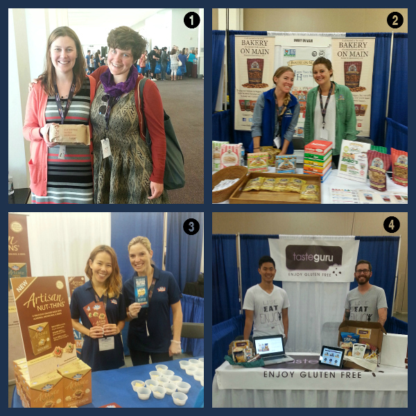Some of my favorite gluten-free companies from Celiac Disease Foundation Expo 2014