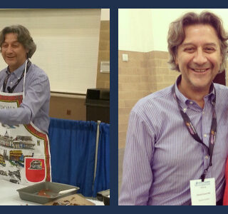 Dr. Fasano at the Celiac Disease Foundation National Conference 2014 - Cooking up Eggplant Parmesan