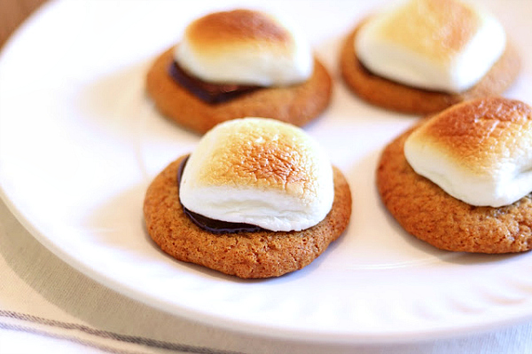 Gluten-free, Dairy-free S'mores cookies