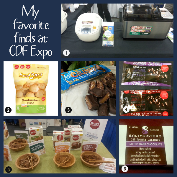 My Favorite Finds at Celiac Disease Foundation Expo2014